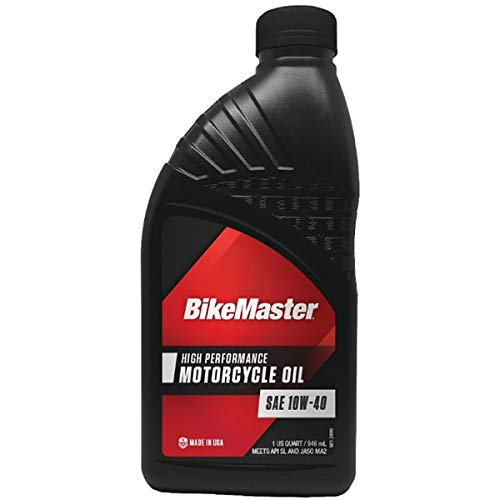 (BikeMaster Performance Oil Conventional 10W40 1 qt for Case Order 12)