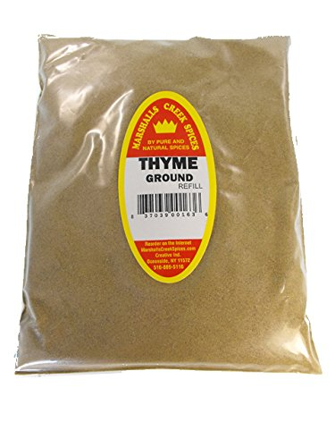Marshalls Creek Spices Family Size Kosher Thyme Ground Refill, 32 Ounce