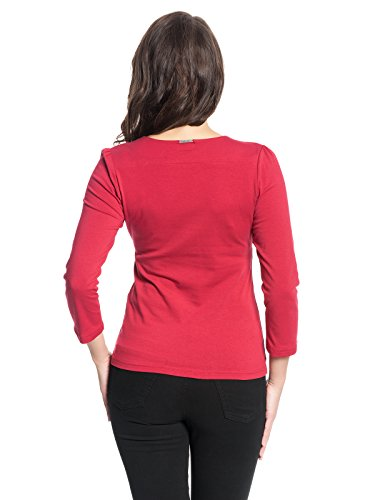 Vive Maria Love 3/4-Arm Shirt Rot