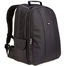 AmazonBasics DSLR and Laptop Backpack - Gray interior (Certified Refurbished)