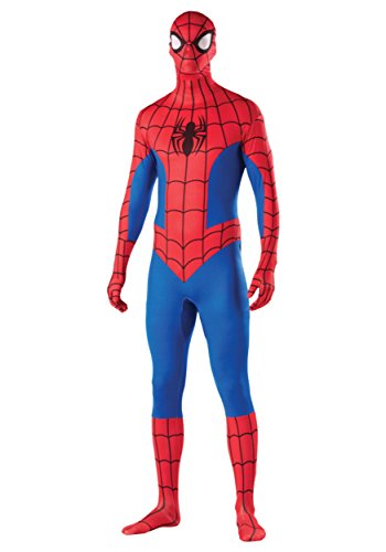 Rubie's Costume Men's Marvel Universe Spider-man Adult 2nd Skin Costume, Multi, Large (Marvel Jumpsuit)