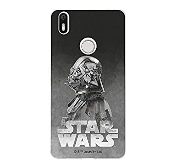 Carcasa Oficial Star Wars Darth Vader Negro BQ Aquaris X Pro ...