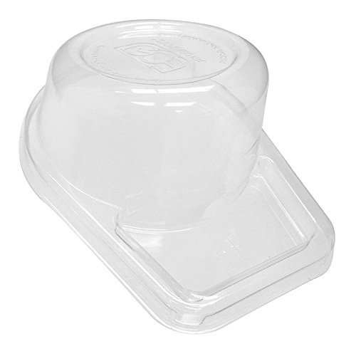 (Bulk Tall Dome Lids, 100% Recycled Content Lid, Fits Sugarcane Take-Out Cup: Eco-Products EP-SCC42LID-R (1200 Compostable Cup Lids))