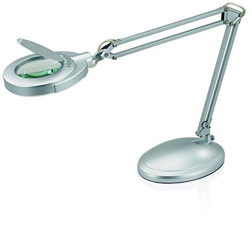 Diopter 3 Magnifier Lens (V-LIGHT LED Energy-Efficient Magnifier Task Lamp with 3-Diopter Glass Lens and Desktop Base (VSL40203SC))