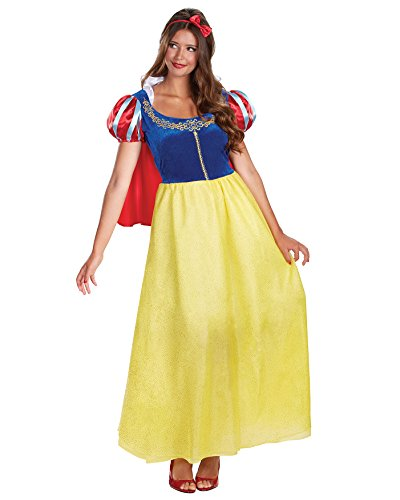 [Snow White Theatre Costumes Princess Dress Disney Princess Costume Sizes: Medium] (Cheap Adult Disney Princess Costumes)