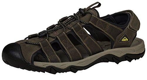 McKinley Trek Sandals Corfu grey / orange pmEgh