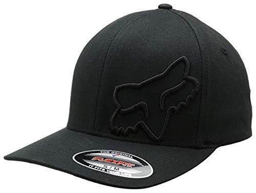 - Fox Men's Flex 45 Flexfit HAT, Black Large/X-Large