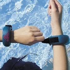 Water Gear Wrist Weights, 2 Lb. Pair