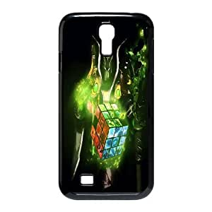 Samsung Galaxy S4 I9500 Phone Case Black dota 2 WQ5RT7535454