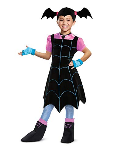 Disguise Vampirina Deluxe Child Costume, Black, Size/(4-6x) -