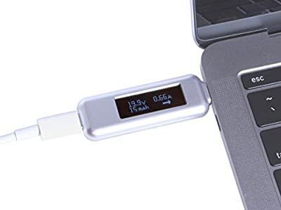 Gearmo USB Type C Power Meter Tester with OLED Display