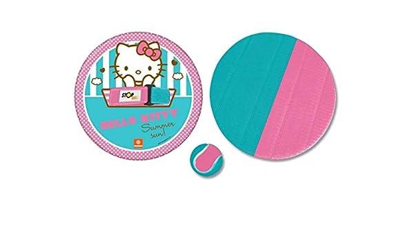 takestop Juego 2 Piezas Raquetas Pandereta SPORT1 Hello Kitty ...