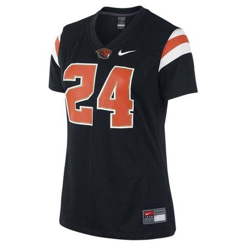 Oregon State Beavers Nike Black #24 Womens Game Replica Football Jersey XXL 2XL