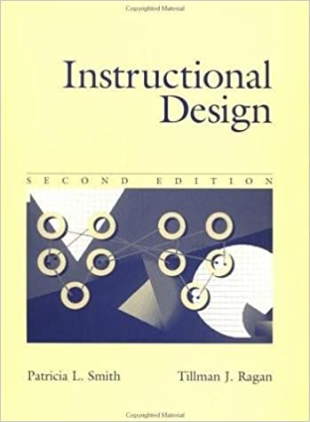 Instructional Design 2nd Second Edition By Smith Ragan Amazon Com Books
