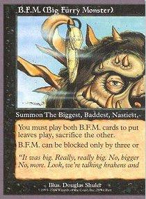 (Magic: The Gathering - B.F.M. 1 (Big Furry Monster) -)