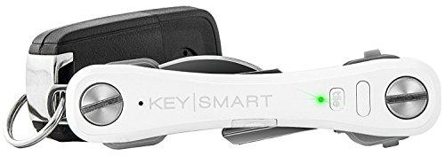 organizador de llaves Keysmart Pro con luz led blanco