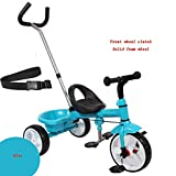 YUMEIGE Kids' Tricycles Kid's Tricycle Load Weight 50 Kg Toddler Trike with Adjustable