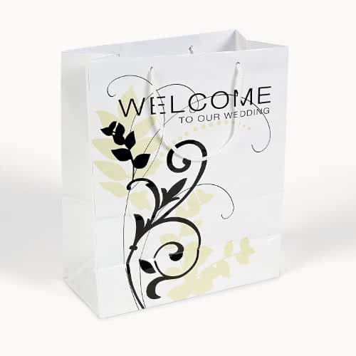 """""""Welcome"""" Gift Bags (1 Dozen) - BULK"""