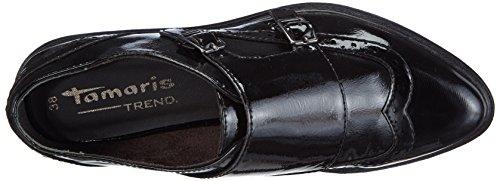 018 Slippers 24317 Schwarz WoMen Black Black Tamaris Patent 7gqpUx