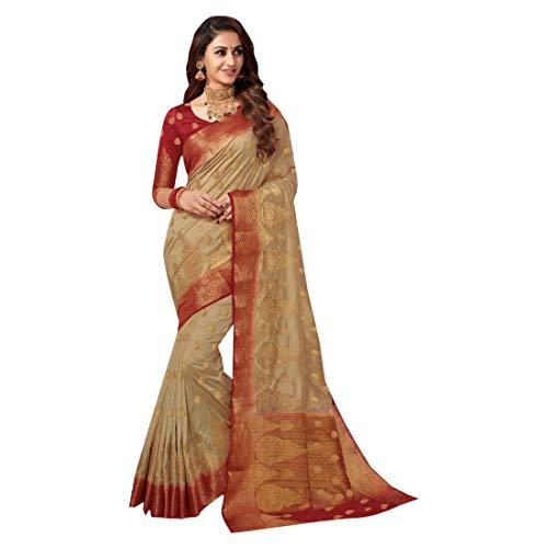 ri Saree Collection Silk Sari Blouse Formal Designer Muslim Women Indian Ethnic 2602 ()