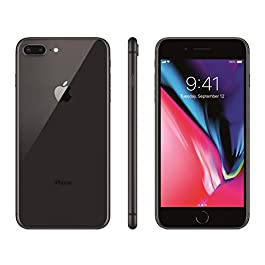 Apple iPhone 8 Plus, Boost Mobile, 64GB – Gray – (Renewed)