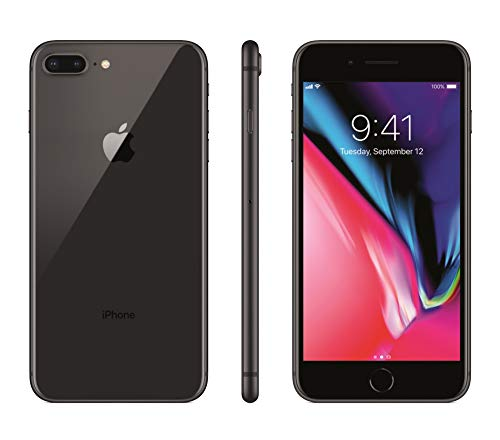 Apple iPhone 8 Plus, 64GB, Space Gray – for Cricket Wireless (Renewed)