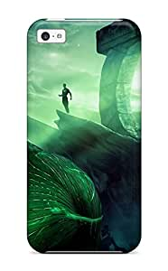 Leslie Hardy Farr's Shop Excellent Iphone 5c Case Tpu Cover Back Skin Protector Green Lantern 1743071K86286676