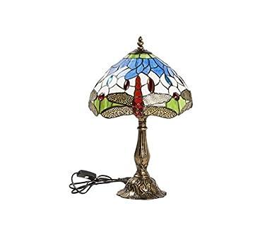 Lámpara de mesa Tiffany: Amazon.es: Iluminación