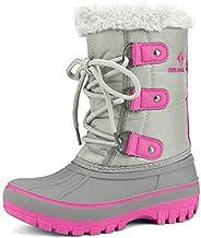 DREAM PAIRS Boys & Girls Toddler/Little Kid/Big Kid Faux Fur-Lined Winter Snow B