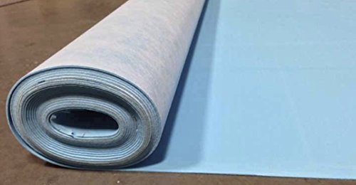 SOUNDBUFFER Flooring Underlayment, 200 sq. ft, Blue