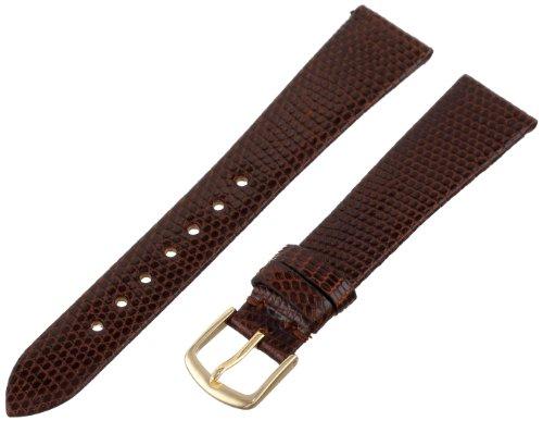 Hadley-Roma Men's MSM700RB-180 18-mm Brown Genuine Lizard Leather Watch Strap