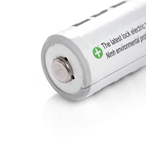 EBL 4 Pack Home Basic 2300mAh AA Rechargeable Batteries [Come with Battery Storage Case]