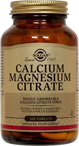 Solgar – Calcium Magnesium Citrate, 100 Tablets
