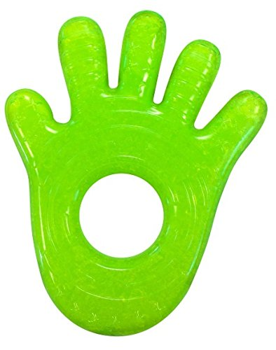 Munchkin Chewy Teether Green Hand