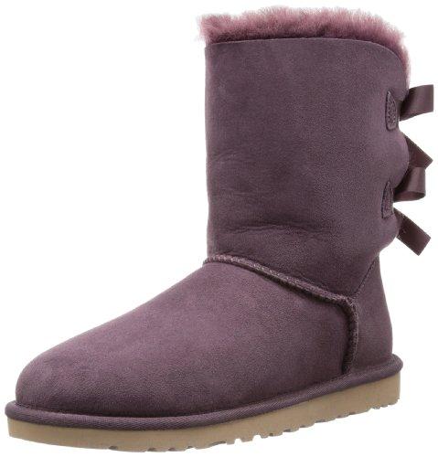 (UGG Australia Women's Bailey Bow Boots,Deep Bordeaux,US 5 US)