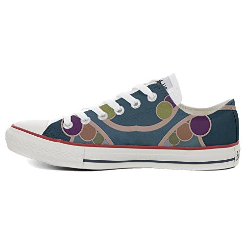 Converse All Star Customized - zapatos personalizados (Producto Artesano) Retro