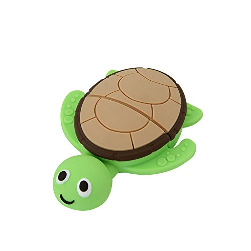 CHUYI Animal Series Sea Turtle Shape 16GB USB 2.0 Flash Drive Novelty and Cute Pen Drive Data Storage Thumb Drive U Disk Jump Drive Pendrive (Drive Flash Series Usb 16gb)