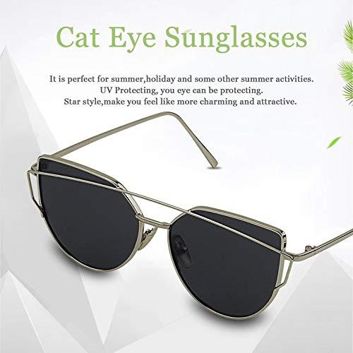soleil UV protection de Style Vacances pour chat œil réfléchissant d'été étoile de de Lunettes femme wAnCqxRvxF
