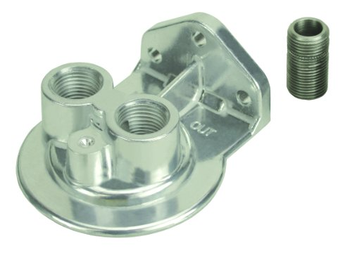 Oil Filter Mounting Bracket - Derale 25708 Remote Filter Mount Kit