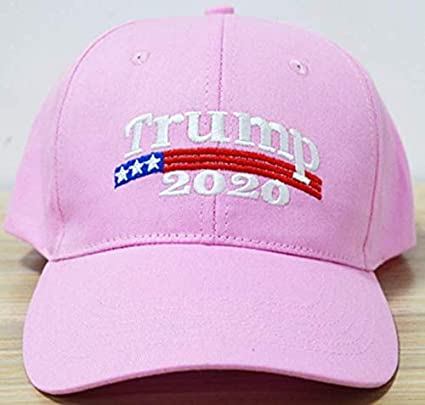 Cheap Trump 2020 Women - Men s Hat - Adjustable Pink Cap - Shipped from USA  at Amazon s Sports Collectibles Store 08570b7cb34