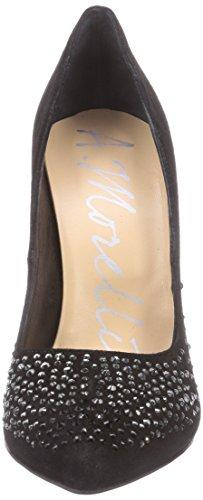 Andrea Morelli Fashion Pumps, Scarpe col tacco Donna Nero (Nero (Nero))