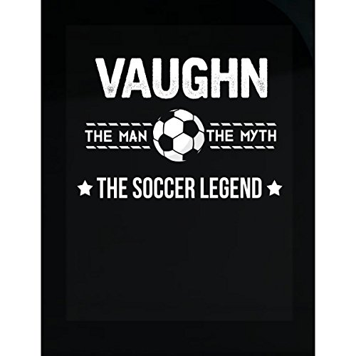 Prints Express Vaughn The Man Myth The Soccer Legend Father's Day - Sticker