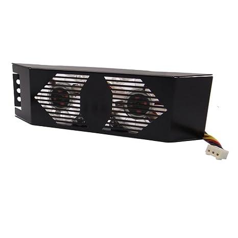 Amazon.com: akust Dual 40 mm ventilador de refrigeración con ...