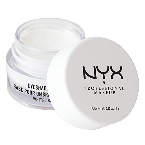- NYX Professional Makeup Eyeshadow Base, White, 0.25 Ounce