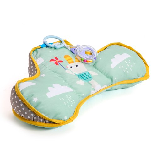 Taf Toys Ergonomic Developmental Tummy-Time Pillow