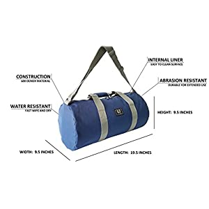 Small Gym Bag for Women and Men Sports Duffle Overwake Original