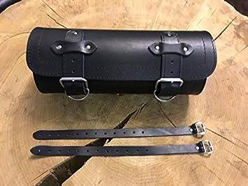 Werkzeugrolle Big 15 Lenkerrolle Gepäckrolle F Kawasaki Yamaha Suzuki Chopper Harley Davidson Hd Motorrad Bikertaschen Motorradtasche Lederrolle Werkzeugrolle Bugrolle Werkzeugtasche Orletanos Auto