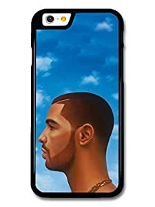 Drake Head Illustration Blue Sky Clouds case for iPhone 6 A10400