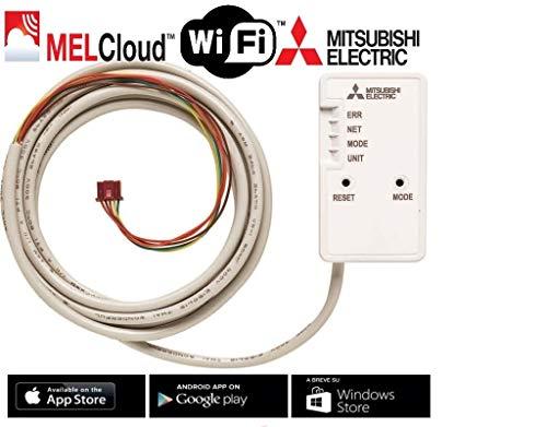 🥇 Mitsubishi Adaptador WiFi para Control por Internet MAC-567IF