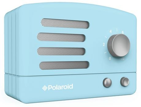 Polaroid PBT530 Wireless Bluetooth Portable Retro Speaker- Blue